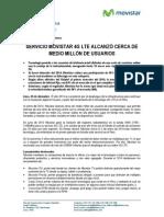 20141230NP MOVISTAR 4G LTE TENDRÁ CERCA DE MEDIO MILLÓN DE USUARIOS_VERSION FINAL CN1