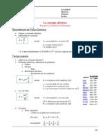 00 - Formulas Energia Electrica