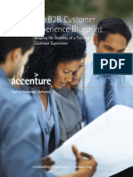 Accenture B2B Customer Experience Blueprint
