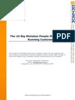 10 Mistakes People Make When Running Customer Surveys