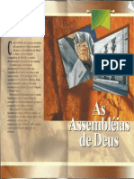 As Assembleias de Deus - Livreto
