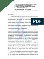 Laporan KLB Keracunan Pangan Alang-Alang Lebar 2014