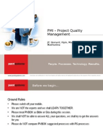 Presentation on Project Quality Management