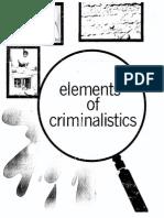 Elements of Criminalistics