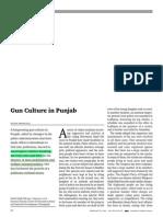 Gun Culture in Punjab