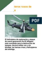 Helicopteros de Combate Rusos