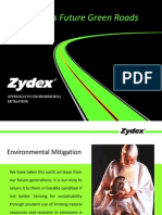 Zydex Nanotechnology for Green Roads-22Aug2014