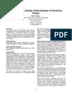 Wakkary Position Design Science