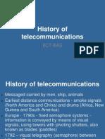 01. History of telecommunications-2013-1.ppt
