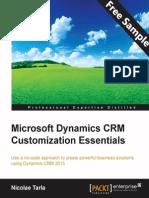 9781784397845_Microsoft_Dynamics_CRM_Customization_Essentials_Sample_Chapter