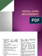 Digital Audio Measurement