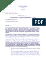 6. Albino Co vs.court of Appeals G. R. No. 100776