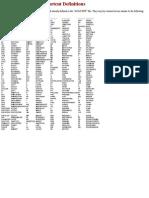 Shortcut Commands - AutoCAD Standard Shortcuts