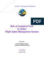 Analytical Tools in Safety