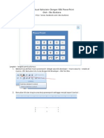 Membuat Kalkulator Dengan VBA Powerpoint