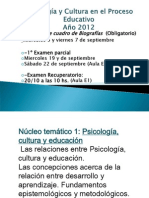 Clases Nucleo 1 y 2- 2012