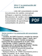 Clases Nucleo 4 2012