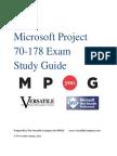 Microsoft Project Certification Study Guide- MPUG1