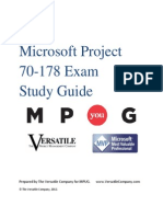 Microsoft Project Certification Study Guide- MPUG1