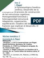 Ps y Cultura- Clase Nucleo 2 Ps. Genética- 2012