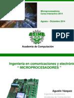 Curso Microprocesadores 2014