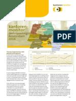 Metropoolregio Amsterdam 2014 Kantorenmonitor