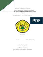 Daftar Contoh Proposal Studi Kelayakan Bisnis Distro Kumpulan