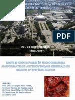 Limite si controverse in Microchirurgia malformatiilor arteriovenoase cerebrale de gradul IV Spetzler Martin