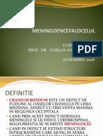 Meningoencefalocelul
