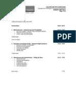 Agenda BBS 2013
