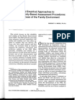 conceptual and empirical approaches to developing fammily-based assessment procedures