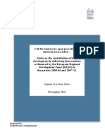ERDF and Local Development Interventions - Berlin Study