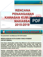 Rencana Penanganan Kawasan Permukiman Kumuh Kota Makassar Tahun 2015-2019