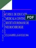 Vasospasmul Cerebral Si Ischemia Cerebrala Tardiva