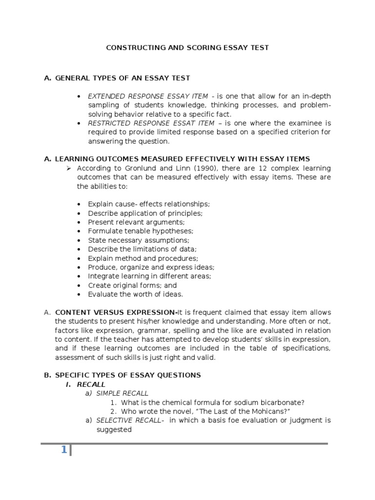 essay evaluation method writing an evaluation essay what are the  what are the different types of essay questions what are the different types of essay questions scientific essay structure