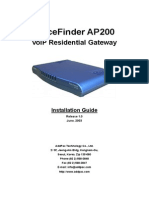 AP200 Installation Guide
