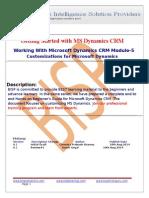 Microsoft  MS-Dynamics CRM Module