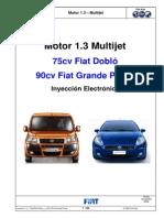 Fiat Punto 1.3 Multijet Inyeccion Electronica