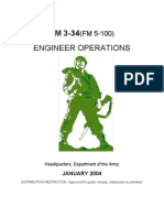 Army - fm3 34 - Engineer Operations