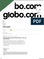 Reforma Urbanística de Pereira Passos, o Rio Com Cara de Paris - Educação