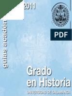 Grado Historia 2010-2011