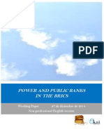 POWER AND PUBLIC BANKS IN THE BRICS