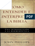 Como Entender e Interpretar La Biblia