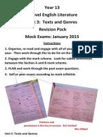 year 13 revision english literature