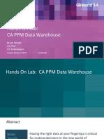 CA Ppm Data Warehouse Jasper Soft