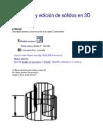 Desarrollo y Edición de Sólidos en 3D