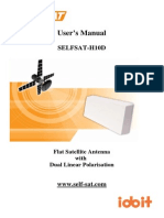 Selfsat User Manual H10DEng