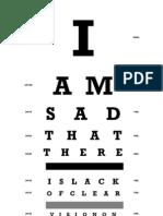 Net Neutrality Eye Chart