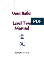 S - Usui Reiki Manual Level 2