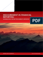 Measurement in Financial Reporting